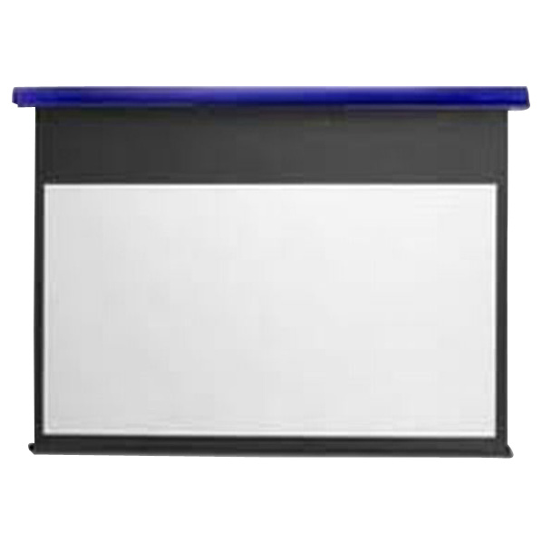 キクチ フルHD画質完全対応電動スクリーン(80型) スタイリスト コバルトブルー SE-80HDPG/B [SE80HDPGB]