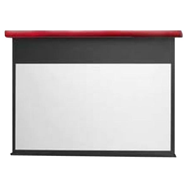 キクチ フルHD画質完全対応電動スクリーン(100型) スタイリスト イタリアンレッド SES-100HDWA/R [SES100HDWAR]