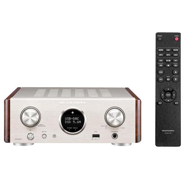 マランツ USB-DAC/ヘッドホンアンプ シルバーゴールド HDDAC1/FN [HDDAC1FN]【KK9N0D18P】【RNH】