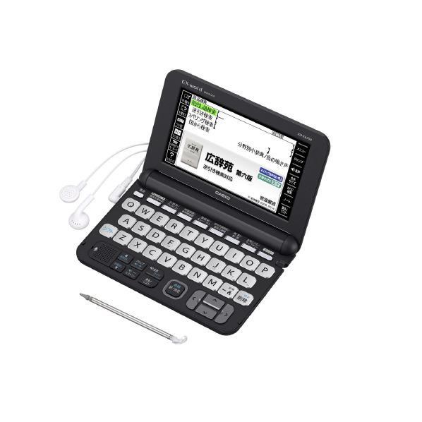 カシオ 電子辞書 EX-Word ブラック XD-K6700BK [XDK6700BK]【RNH】