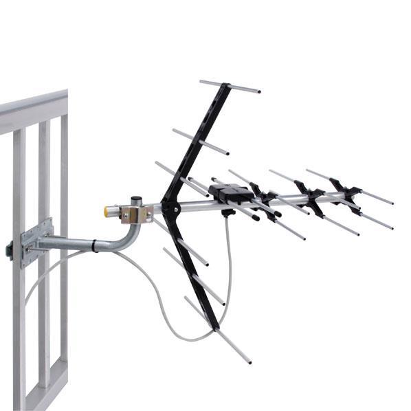 ラッピング無料 SALE アンテナ取付に必要な部材がセットになった 便利でお手軽なセット品です マスプロ 水平 LS56SET 垂直偏波用UHFアンテナセット LS56-SET