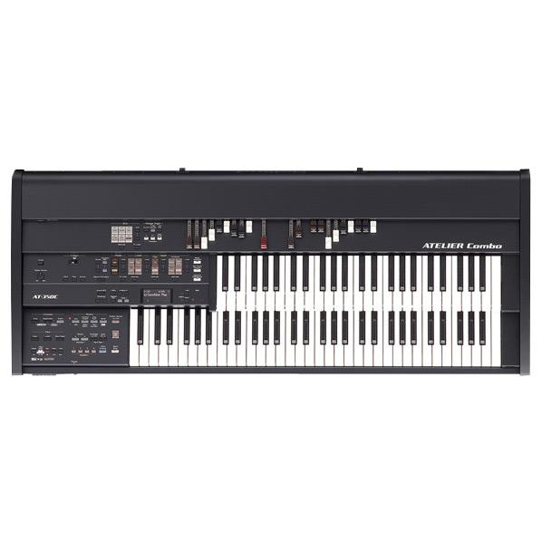 ローランド 電子オルガン ミュージック・アトリエ ブラック AT-350C [AT350C]【KK9N0D18P】
