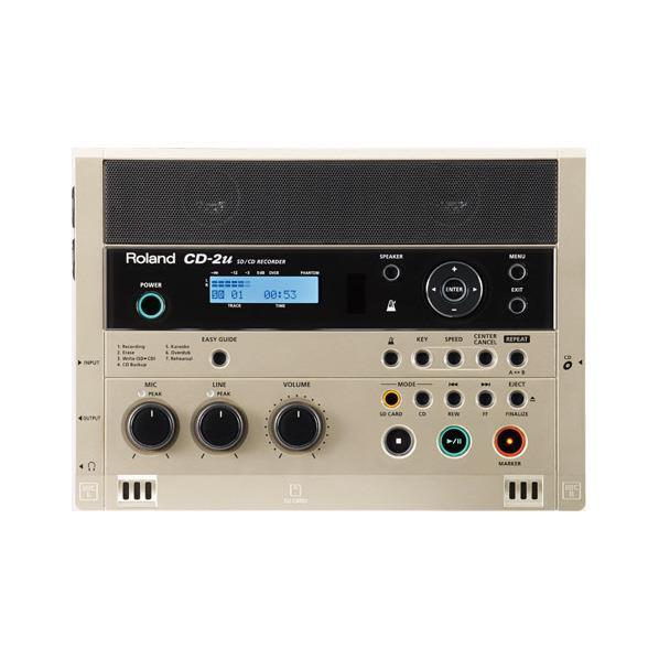 ローランド SD/CDレコーダー CD-2U [CD2U]