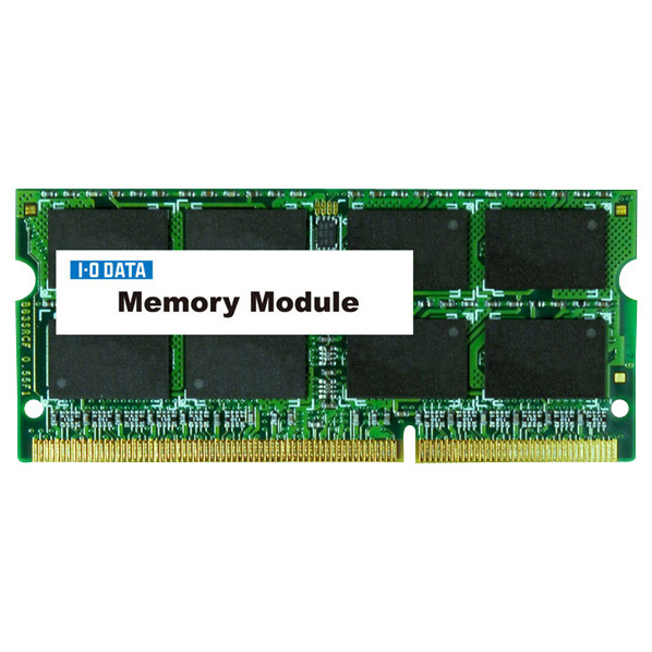 I/Oデータ ノートPC用メモリー(8GB) SDY1600L-8G [SDY1600L8G]