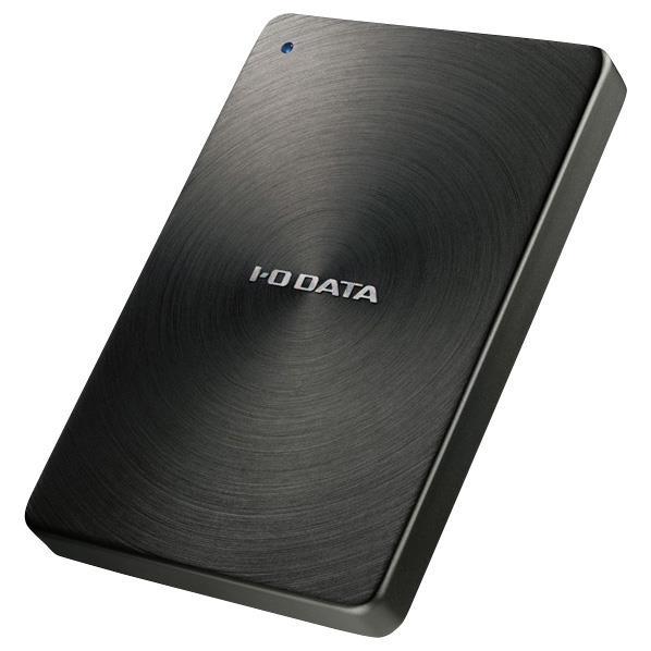 I/Oデータ 2TB ポータブルHDドライブ カクうす ブラック HDPX-UTA2.0K [HDPXUTA20K]
