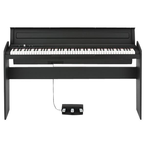 【標準設置が今なら1円!】コルグ 電子ピアノ 黒 LP-180-BK [LP180BK]