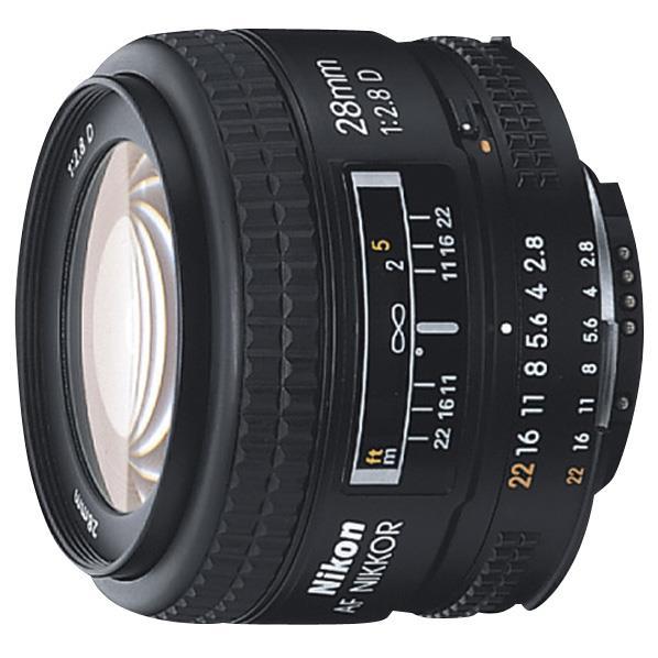 ニコン 単焦点レンズ Ai AF Nikkor 28mm f/2.8D AF28MMF2.8D:ニコン [AF28F2.8D]