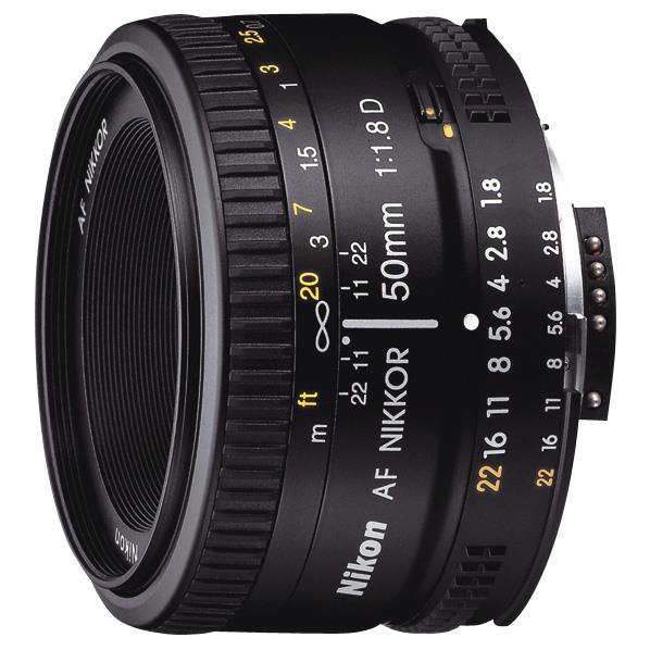 【送料無料】ニコン 単焦点レンズ Ai AF Nikkor 50mm f/1.8D AF50/1.8D:ニコン [AF50F1.8D]