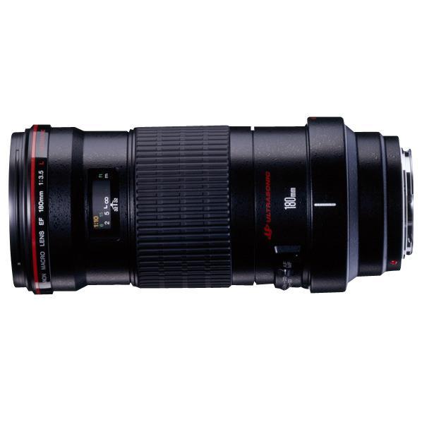 キヤノン 望遠マクロレンズ EF180mm F3.5L マクロ USM EF18035LM [EF18035LM]