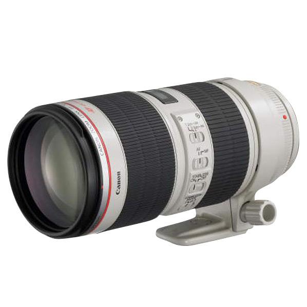 キヤノン 望遠ズームレンズ EF70-200mm F2.8L IS II USM EF70-200LIS2 [EF70200LIS2]