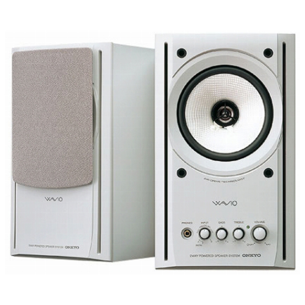 ONKYO PCスピーカー ホワイト GX-77M(W) [GX77MW]【KK9N0D18P】【RNH】【SYBN】