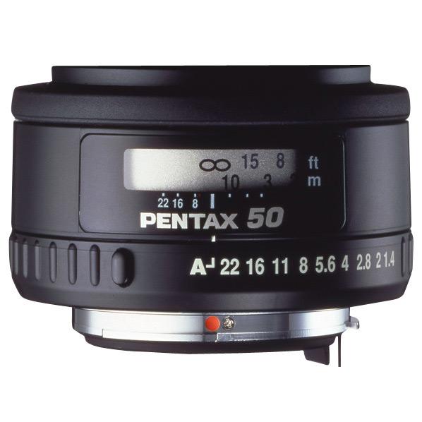 PENTAX 望遠レンズ smc PENTAX-FA50mmF1.4 ブラック FA50F1.4 [FA50F1.4]