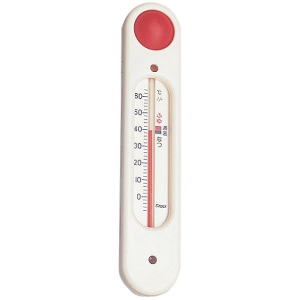 エンペックス 湯温計 元気っ子ホワイト ホワイト JNMP 人気の定番 TG5101 オープニング 大放出セール TG-5101