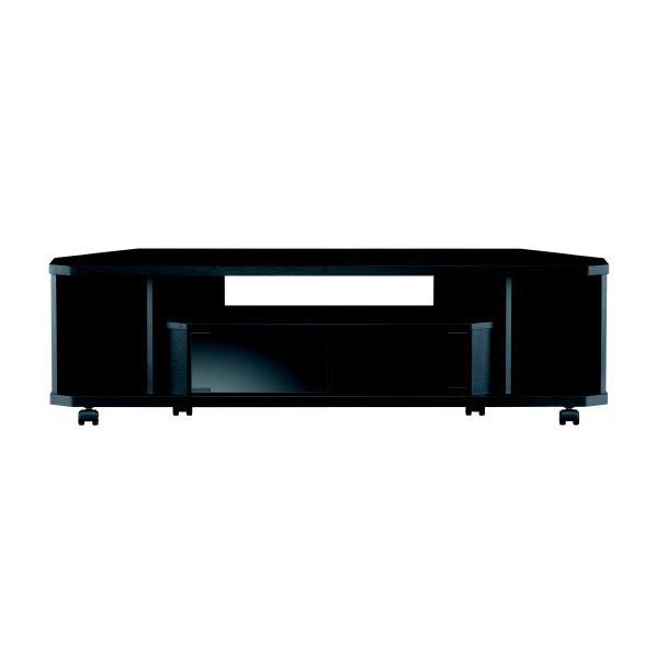 朝日木材 ~52V型まで対応 薄型テレビ台 CN style ブラック AS-CN1200-B [ASCN1200B]