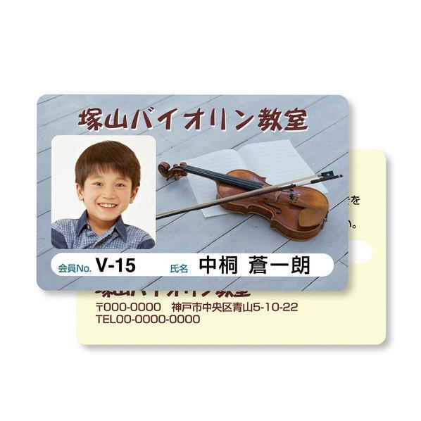 サンワサプライ インクジェット用IDカード(穴なし・100シート入り) JP-ID03-100 [JPID03100]