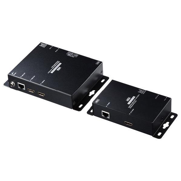 【送料無料】サンワサプライ PoE対応HDMIエクステンダー(セットモデル) VGA-EXHDPOE2 [VGAEXHDPOE2]