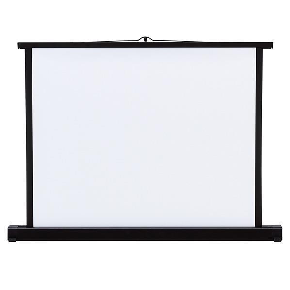 サンワサプライ プロジェクタースクリーン(机上式・50型) PRS-K50K [PRSK50K]