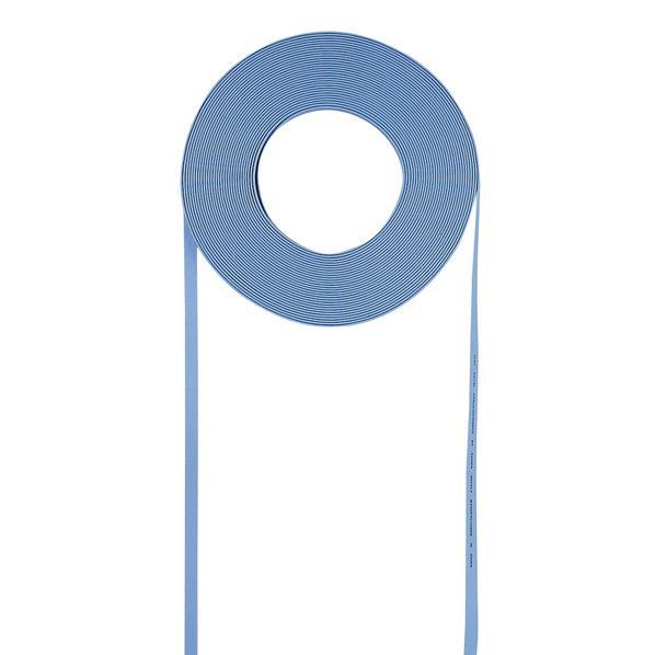 サンワサプライ 超フラットケーブルのみ(100m) ライトブルー LAFL5CB100LB [LAFL5CB100LB]