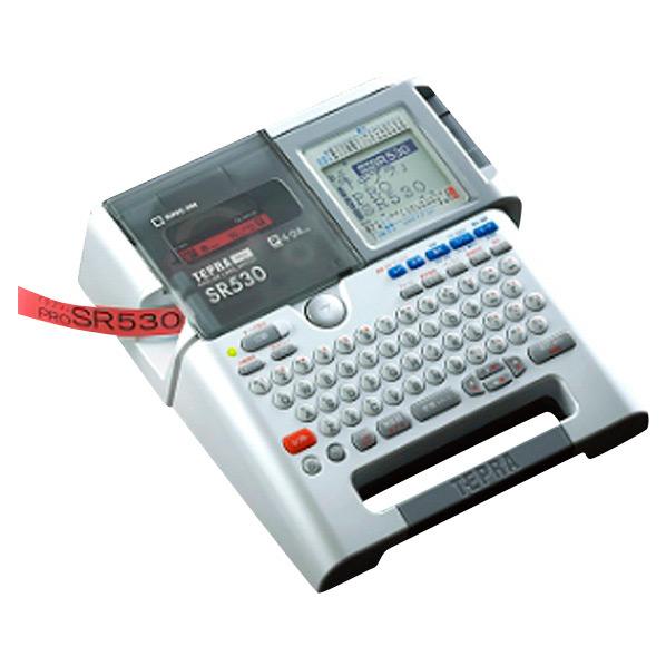 キングジム ラベルライター テプラPRO シルバー SR530 [SR530]【RNH】