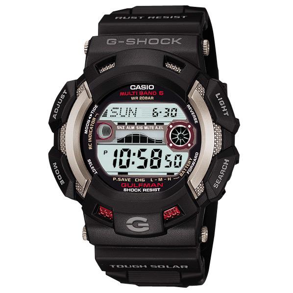 カシオ ソーラー電波腕時計 G-SHOCK GW-9110-1JF [GW91101JF]