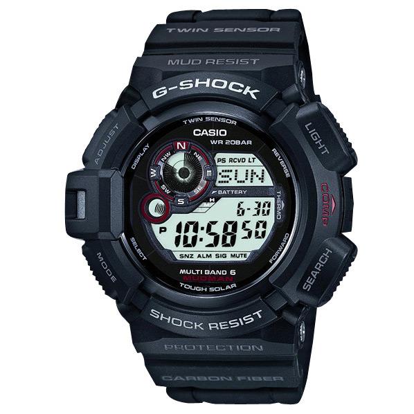 カシオ ソーラー電波腕時計 G-SHOCK GW-9300-1JF [GW93001JF]