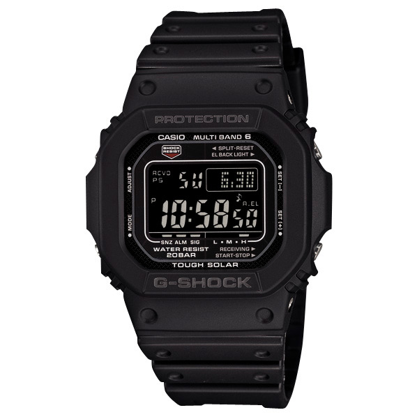 カシオ ソーラー電波腕時計 G-SHOCK GW-M5610-1BJF [GWM56101BJF]