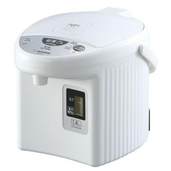 象印 マイコン沸とう電動ポット(1.4L) ホワイト CD-KG14-WA [CDKG14WA]【RNH】