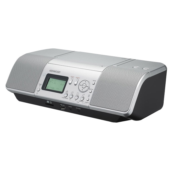 JVCケンウッド CD/SD/USBオーディオシステム シルバー CLX-30-S [CLX30S]【RNH】
