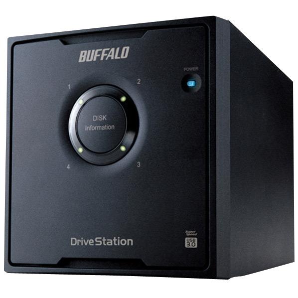 【送料無料】BUFFALO 外付型 16TB HDドライブ ドライブステーション HD-QL16TU3/R5J [HDQL16TU3R5J]【KK9N0D18P】