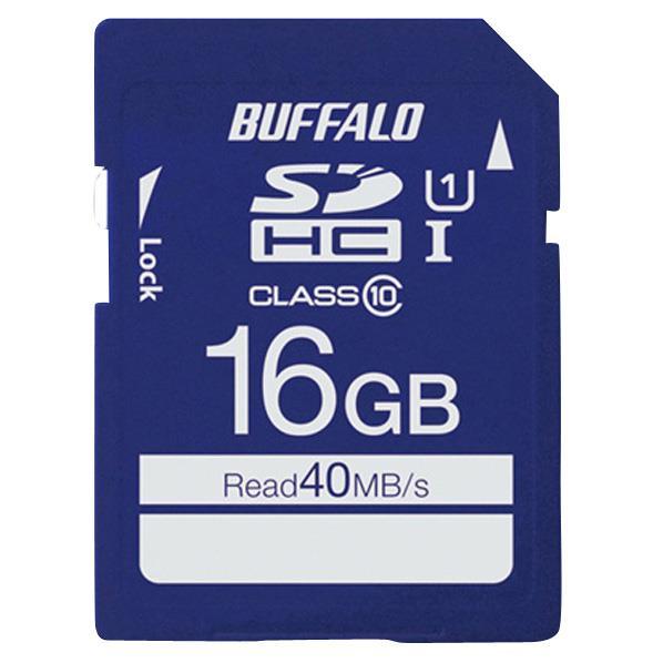 BUFFALO 高速SDHC UHS-Iメモリーカード(16GB) RSDC-016GU1S [RSDC016GU1S]