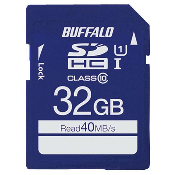 BUFFALO 高速SDHC UHS-Iメモリーカード(32GB) RSDC-032GU1S [RSDC032GU1S]