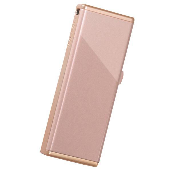 大人の魅力溢れる 煌めくピンクゴールドフレーム 特価 BUFFALO 女性向け 期間限定特価品 キャップレスデザイン USB3.0用 RUF3JW32GSC RUF3-JW32G-SC 32GB シャイニーコーラル USBメモリー