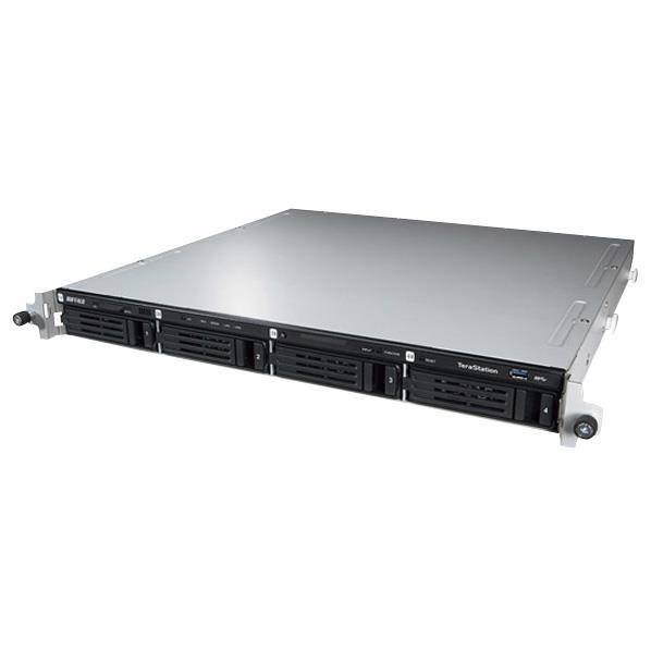 【送料無料】BUFFALO WSS 2012 R2 WE搭載 4ドライブ NAS ラックマウントモデル(8TB) テラステーション WS5400RN0804W2 [WS5400RN0804W2]【KK9N0D18P】