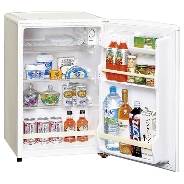 パナソニック 【右開き】75L 1ドアノンフロン冷蔵庫 オフホワイト NR-A80W-W [NRA80WW]【RNH】