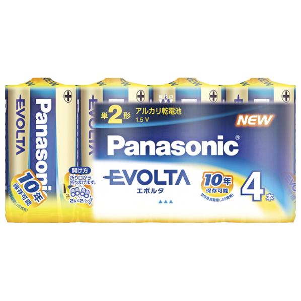 パナソニック エボルタ乾電池 MYOUR LR14EJV 4SW SSPT 完売 LR14EJV4SW 評価