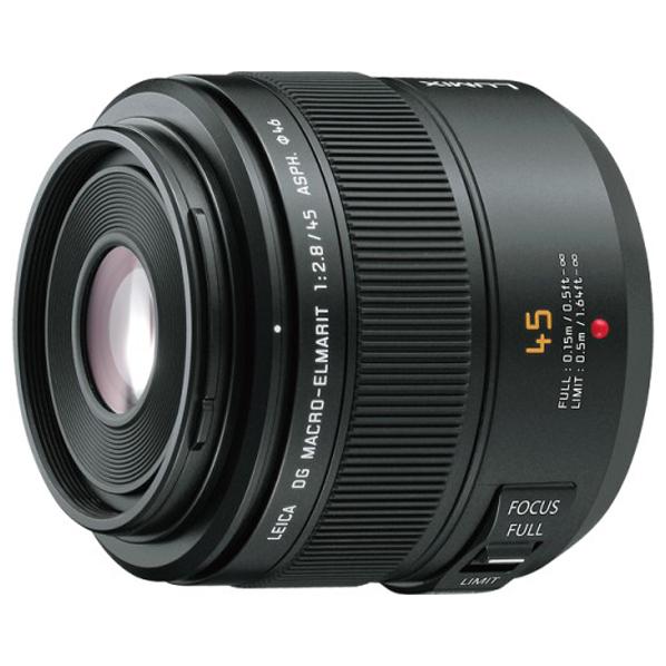 パナソニック デジタル一眼カメラ用交換レンズ LEICA DG MACRO-ELMARIT 45mm/F2.8 ASPH./MEGA O.I.S. H-ES045 [HES045]