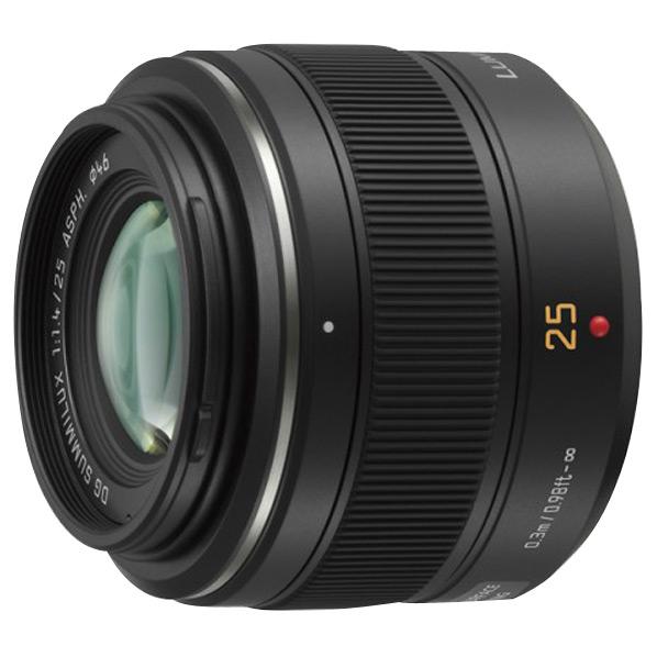 【送料無料】パナソニック 単焦点レンズ LEICA DG SUMMILUX 25mm/F1.4 ASPH. H-X025 [HX025]