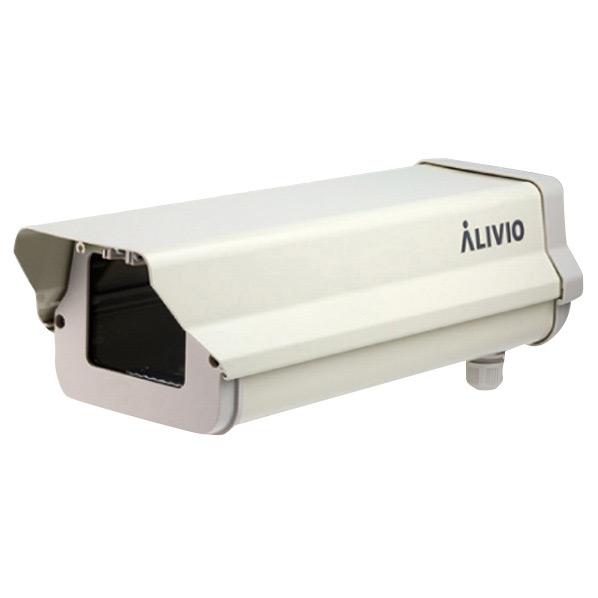 コロナ電業 屋外カメラハウジング バックオープンタイプ ALIVIO アイボリー VK-HT005 [VKHT005]
