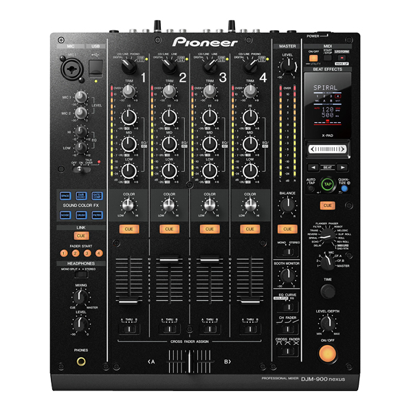 【送料無料】PIONEER DJミキサー DJM-900NXS [DJM900NXS]【RNH】
