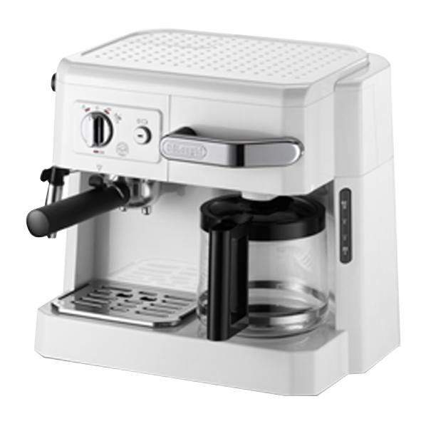 デロンギ コンビコーヒーメーカー ホワイト BCO410J-W [BCO410JW]【RNH】