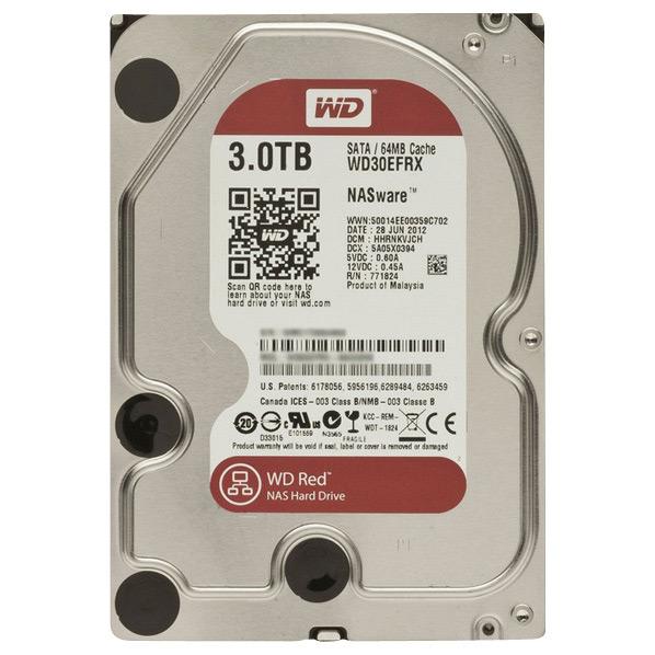 WESTERN DIGITAL 内蔵型 3TB HDドライブ WD Red WD30EFRX [WD30EFRXC]【MVSP】
