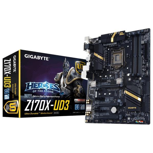 GIGABYTE Z170搭載 ATXマザーボード GA-Z170X-UD3 [GAZ170XUD3]【SYBN】【MMARP】