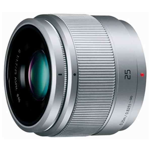 パナソニック 単焦点レンズ シルバー H-H025-S [HH025S]