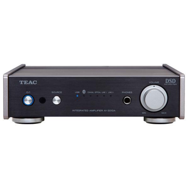 TEAC USB DAC ステレオプリメインアンプ Reference 301 ブラック AI 301DA SP BAI30TFKclJu135