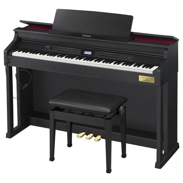 【標準設置が今なら1円!】カシオ 電子ピアノ CELVIANO ブラックウッド調 AP-700BK [AP700BK]