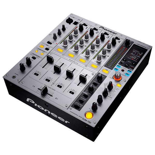 【送料無料】パイオニアDJ DJミキサー シルバー DJM-750-S [DJM750S]【RNH】