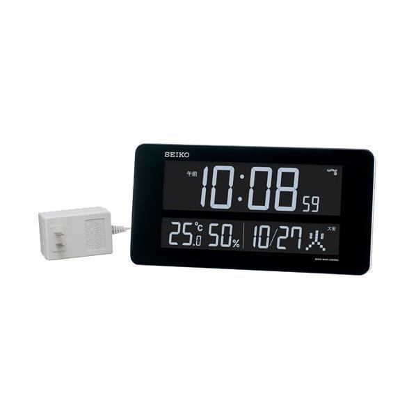 SEIKO 電波置掛時計 白塗装 DL208W [DL208W]