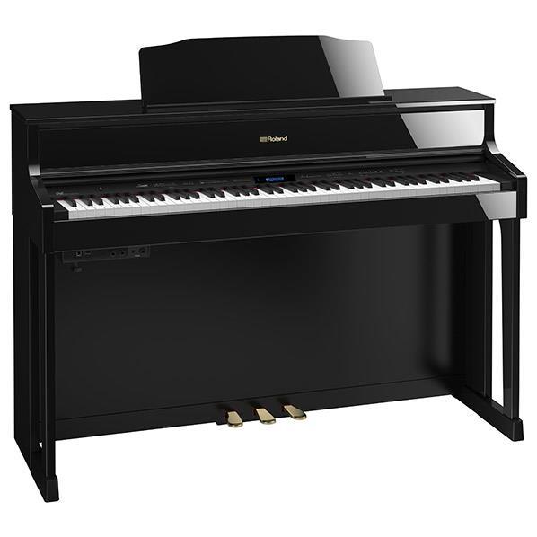 【送料無料】【標準設置が今なら1円!】ローランド 電子ピアノ 黒塗鏡面艶出し塗装仕上げ HP605-PES [HP605PES]【KK9N0D18P】