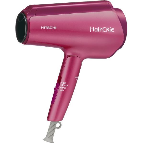 日立 ナノイオンドライヤー HairCRiE Plus+ ピンクトパーズ HD-NS800P [HDNS800P]【RNH】