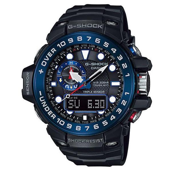 カシオ ソーラー電波腕時計 G-SHOCK GWN-1000B-1BJF [GWN1000B1BJF]